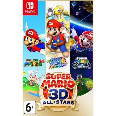 Игра для Nintendo Switch Super Mario 3D All-Stars (английская версия)