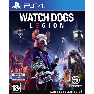 Игра для PlayStation 4 Watch Dogs: Legion (русская версия)