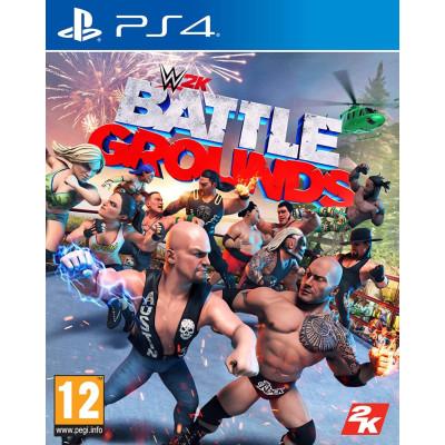 Игра для PlayStation 4 WWE 2K Battlegrounds (английская версия)