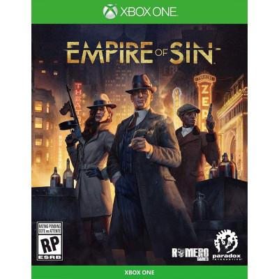 Игра для Xbox One/Series X Empire of Sin. Издание первого дня (русские субтитры)