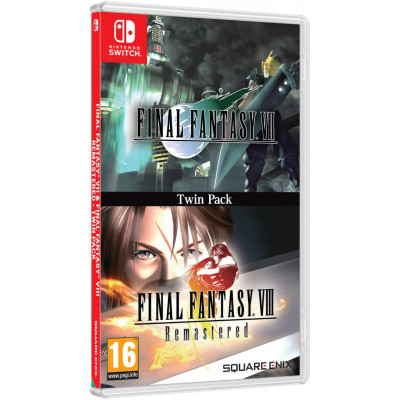 Игра для Nintendo Switch Final Fantasy VII & Final Fantasy VIII Remastered (английская версия)