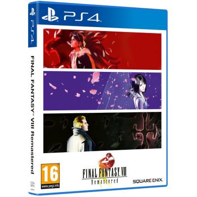 Игра для PlayStation 4 Final Fantasy VIII Remastered (английская версия)