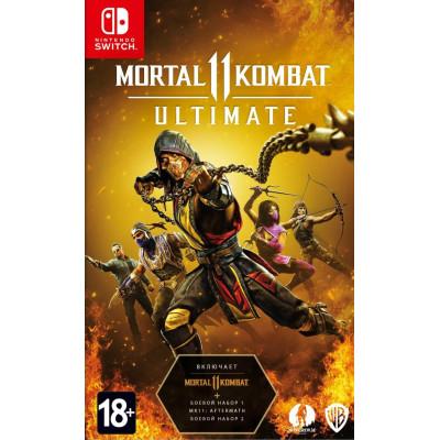 Игра для Nintendo Switch Mortal Kombat 11 Ultimate (Код загрузки, без картриджа) (русские субтитры)