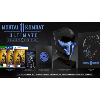 Игра для PlayStation 4 Mortal Kombat 11 Ultimate. Kollector's Edition (русские субтитры)