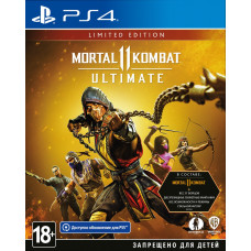 Mortal Kombat 11 Ultimate. Limited Edition [PS4, русские субтитры]