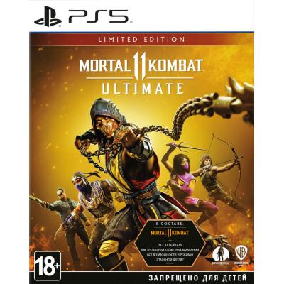 Игра для PS5 Mortal Kombat 11 Ultimate. Limited Edition (русские субтитры)