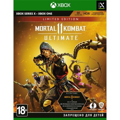 Игра для Xbox One/Series X Mortal Kombat 11 Ultimate. Limited Edition (русские субтитры)