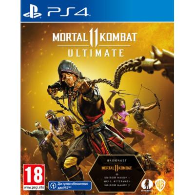 Игра для PlayStation 4 Mortal Kombat 11 Ultimate (русские субтитры)