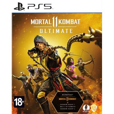 Игра для PlayStation 5 Mortal Kombat 11 Ultimate (русские субтитры)