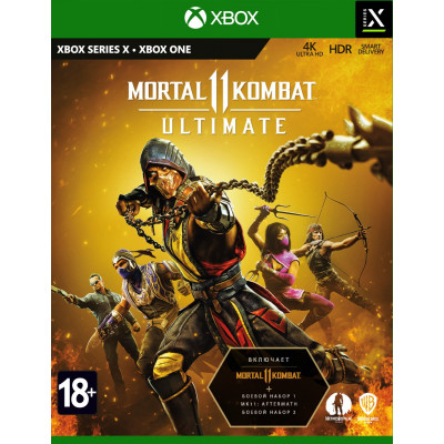 Игра для Xbox Mortal Kombat 11 Ultimate (русские субтитры)