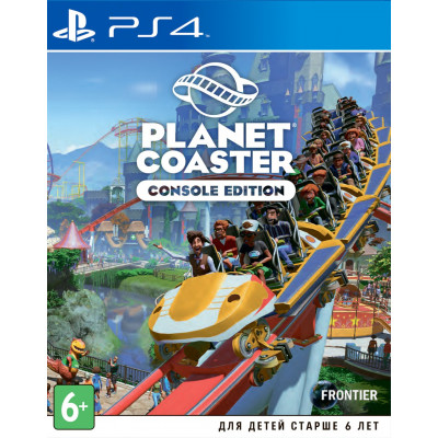 Игра для PlayStation 4 Planet Coaster Console Edition (английская версия)