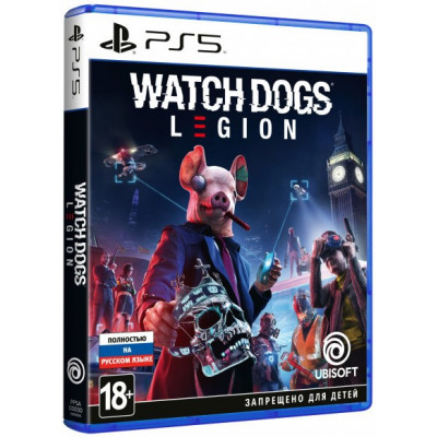 Игра для PS5 Watch Dogs: Legion (русская версия)