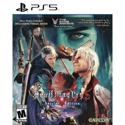 Игра для PS5 Devil May Cry 5. Special Edition (русские субтитры)