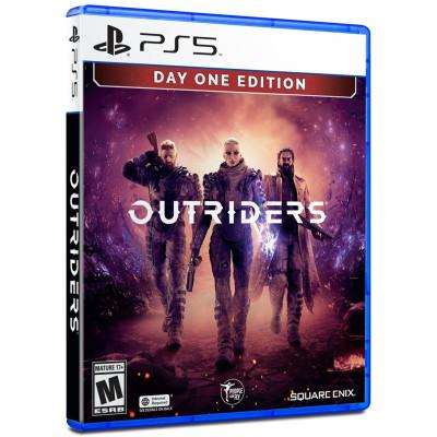 Игра для PlayStation 5 Outriders. Day One Edition (русская версия)