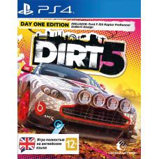 Dirt 5. Издание первого дня [PS4, английская версия]