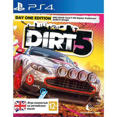 Игра для PlayStation 4 Dirt 5. Издание первого дня (английская версия)