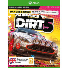 Dirt 5. Издание первого дня [Xbox One/Serie X, английская версия]