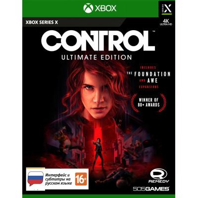 Игра для Xbox Series X Control. Ultimate Edition (русские субтитры)