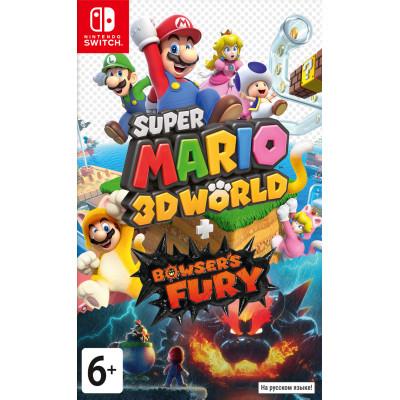 Игра для Nintendo Switch Super Mario 3D World + Bowser's Fury (русская версия)
