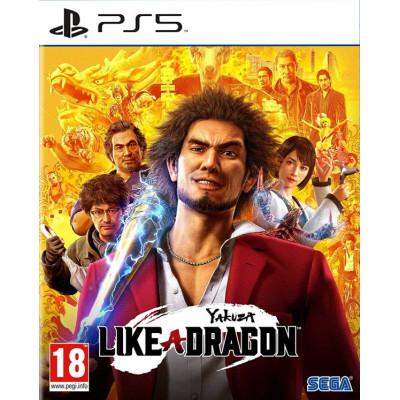 Игра для PlayStation 5 Yakuza: Like a Dragon (русские субтитры)