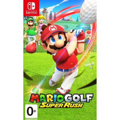 Игра для Nintendo Switch Mario Golf: Super Rush (русская версия)