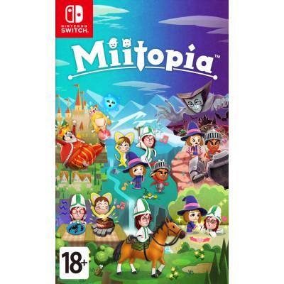 Игра для Nintendo Switch Miitopia (английская версия)