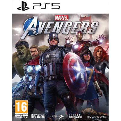 Игра для PlayStation 5 Мстители Marvel (русская версия)