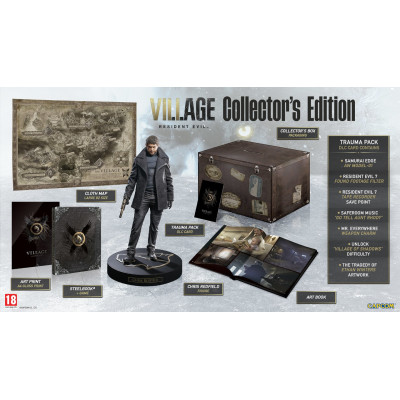 Игра для Xbox One/Series X Resident Evil Village. Collector's Edition (русская версия)