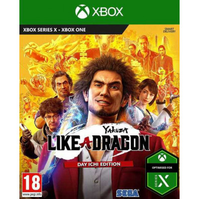 Игра для Xbox One Yakuza: Like a Dragon. Day Ichi Edition (английская версия)