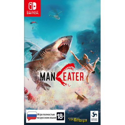 Игра для Nintendo Switch Maneater (русская версия)