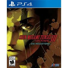 Shin Megami Tensei III Nocturne HD Remaster [PS4, русская документация]