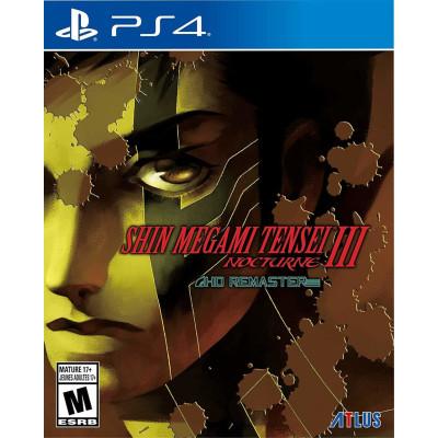 Игра для PlayStation 4 Shin Megami Tensei III Nocturne HD Remaster (русская документация)