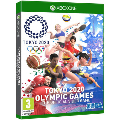 Игра для Xbox One/Series X Tokyo 2020 Olympic Games Official Videogame (русские субтитры)