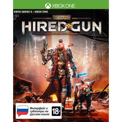 Игра для Xbox Necromunda: Hired Gun (русские субтитры)