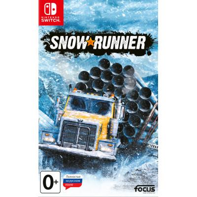 Игра для Nintendo Switch SnowRunner (русская версия)