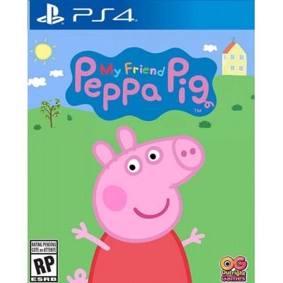 Игра для PlayStation 4 Моя подружка Peppa Pig (русская версия)