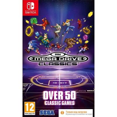 Игра для Nintendo Switch SEGA Mega Drive Classics (Код загрузки, без картриджа) (русская документация)