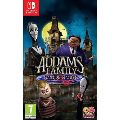 Игра для Nintendo Switch Семейка Аддамс: Переполох в особняке (русская версия)