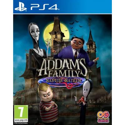 Игра для PlayStation 4 Семейка Аддамс: Переполох в особняке (русская версия)