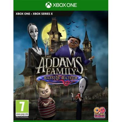 Игра для Xbox One/Series X Семейка Аддамс: Переполох в особняке (русская версия)