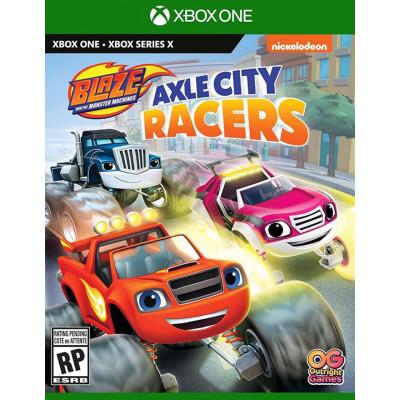 Игра для Xbox One/Series X Вспыш и чудо-машинки: Гонщики Эксл Сити (русская версия)
