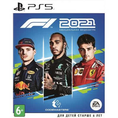 Игра для PlayStation 5 F1 2021 (русские субтитры)