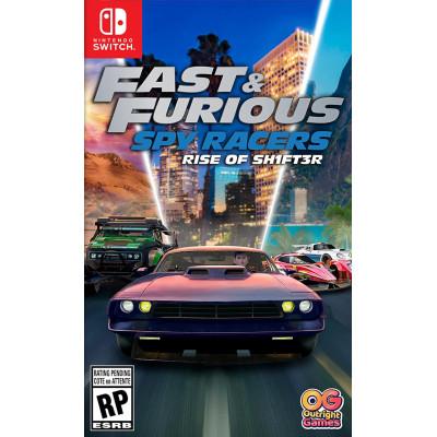 Игра для Nintendo Switch Fast & Furious Spy Racers: Подъем SH1FT3R (русские субтитры)