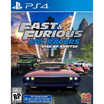 Игра для PlayStation 4 Fast & Furious Spy Racers: Подъем SH1FT3R (русские субтитры)
