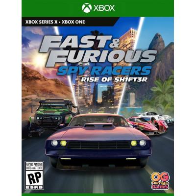Игра для Xbox Fast & Furious Spy Racers: Подъем SH1FT3R (русские субтитры)