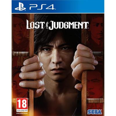 Игра для PlayStation 4 Lost Judgment (английская версия)