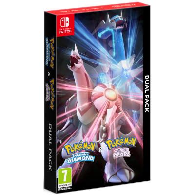 Игра для Nintendo Switch Pokemon Brilliand Diamond & Shining Pearl Dual Pack (английская версия)