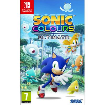 Игра для Nintendo Switch Sonic Colours: Ultimate (русские субтитры)