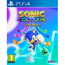 Sonic Colours: Ultimate [PS4, русские субтитры]