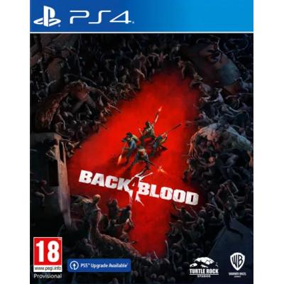 Игра для PlayStation 4 Back 4 Blood (русские субтитры)